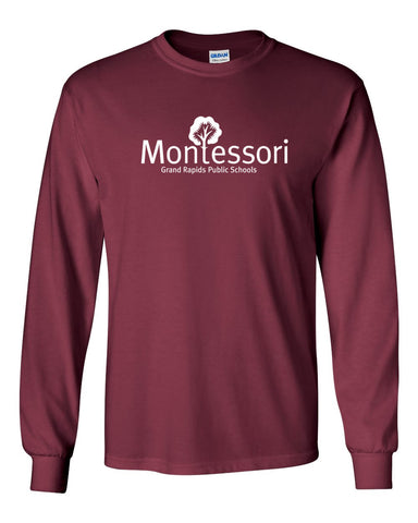 GR Montessori Full Chest Long Sleeve Tee