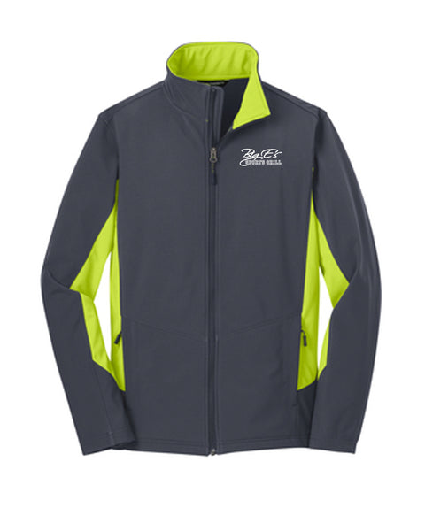 Men's Big E's Port Authority® Core Colorblock Soft Shell Jacket