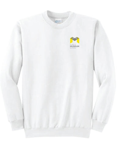 Museum School Crew Neck Sweatshirt