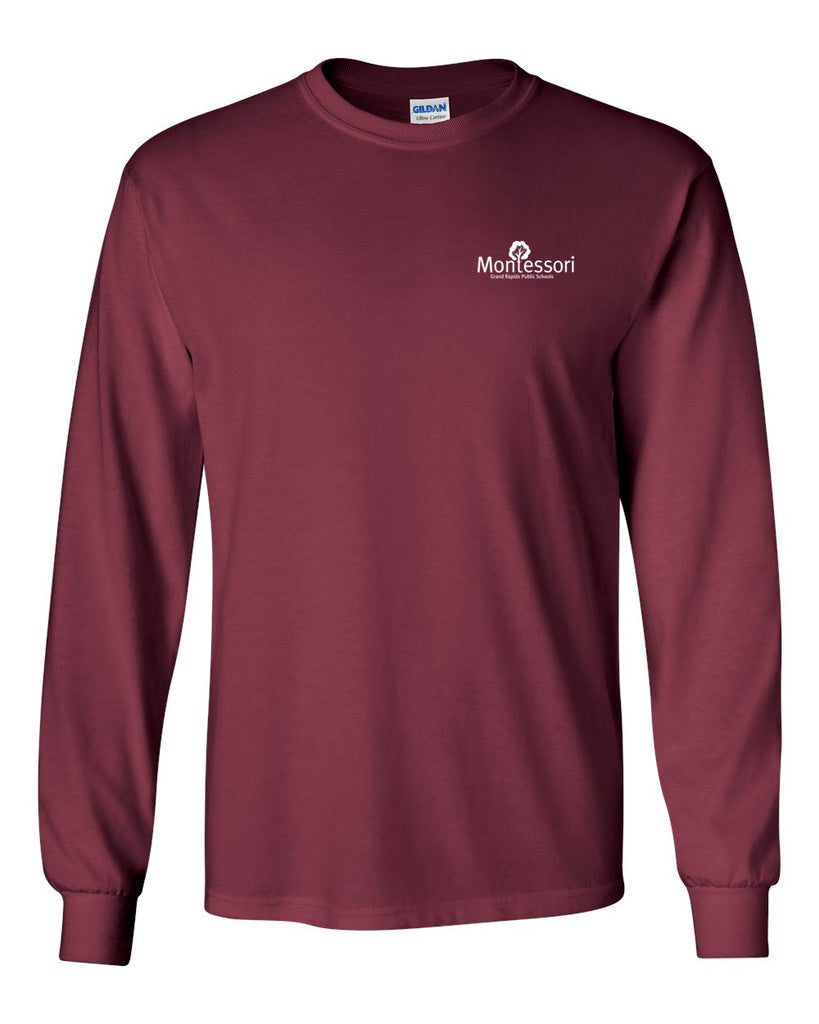 GR Montessori Left Chest Long Sleeve Tee (PC61LS)