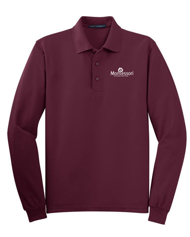 GR Montessori Long Sleeve Polo