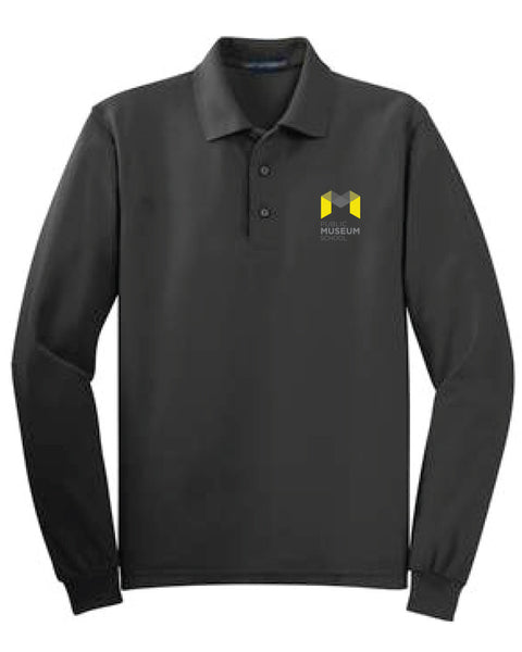 Museum School Long Sleeve Polo