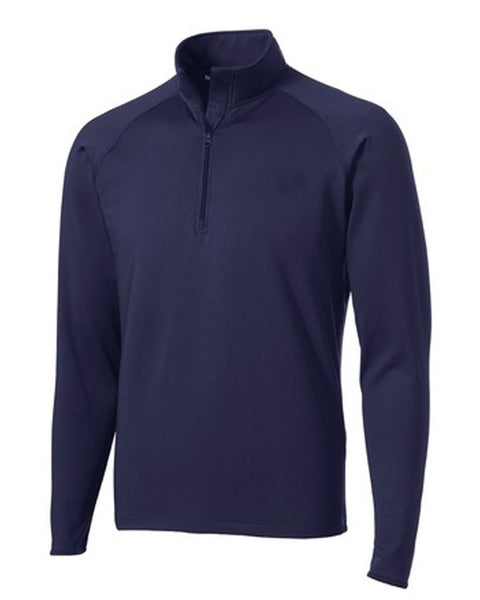 Staff Sport Wick 1/4 Zip Pull Over School Logo