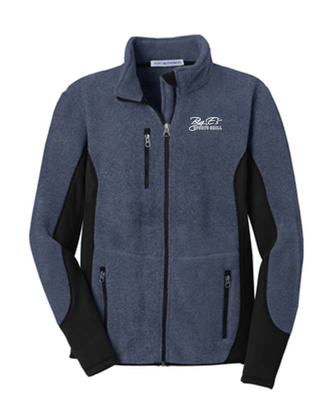 Men's Big E's Port Authority® R-Tek® Pro Fleece Full-Zip Jacket