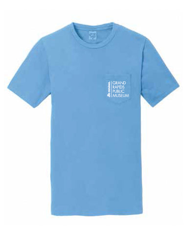 Museum Staff Port & Company® Pigment-Dyed Pocket Tee