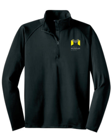 Museum School Sport Wick 1/4 Zip Pull Over