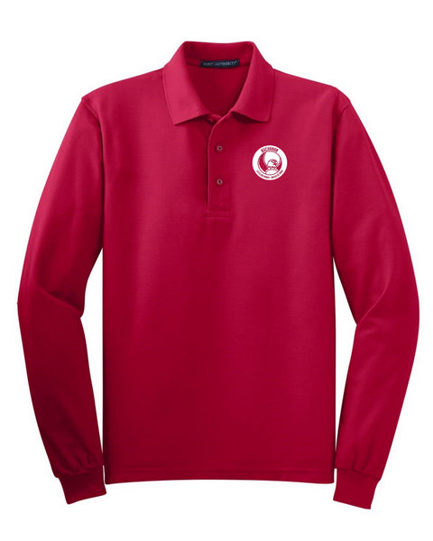 East Leonard Long Sleeve Polo