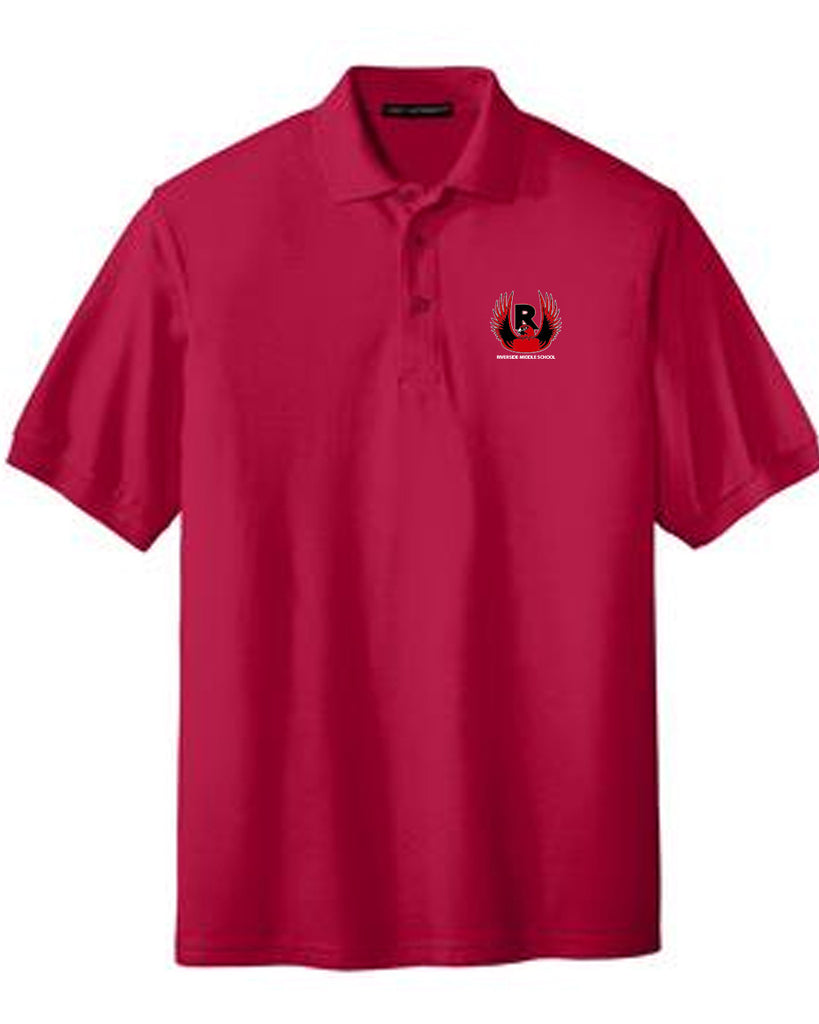 Riverside Middle Embroidered Polo