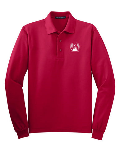 Riverside Middle Long Sleeve Polo