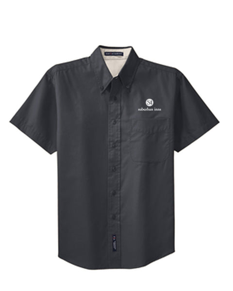 Men's Suburban Inns Port Authority® Short Sleeve Easy Care Shirt