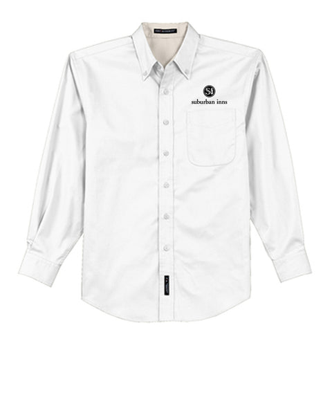 Men's Suburban Inns Port Authority® Long Sleeve Easy Care Shirt