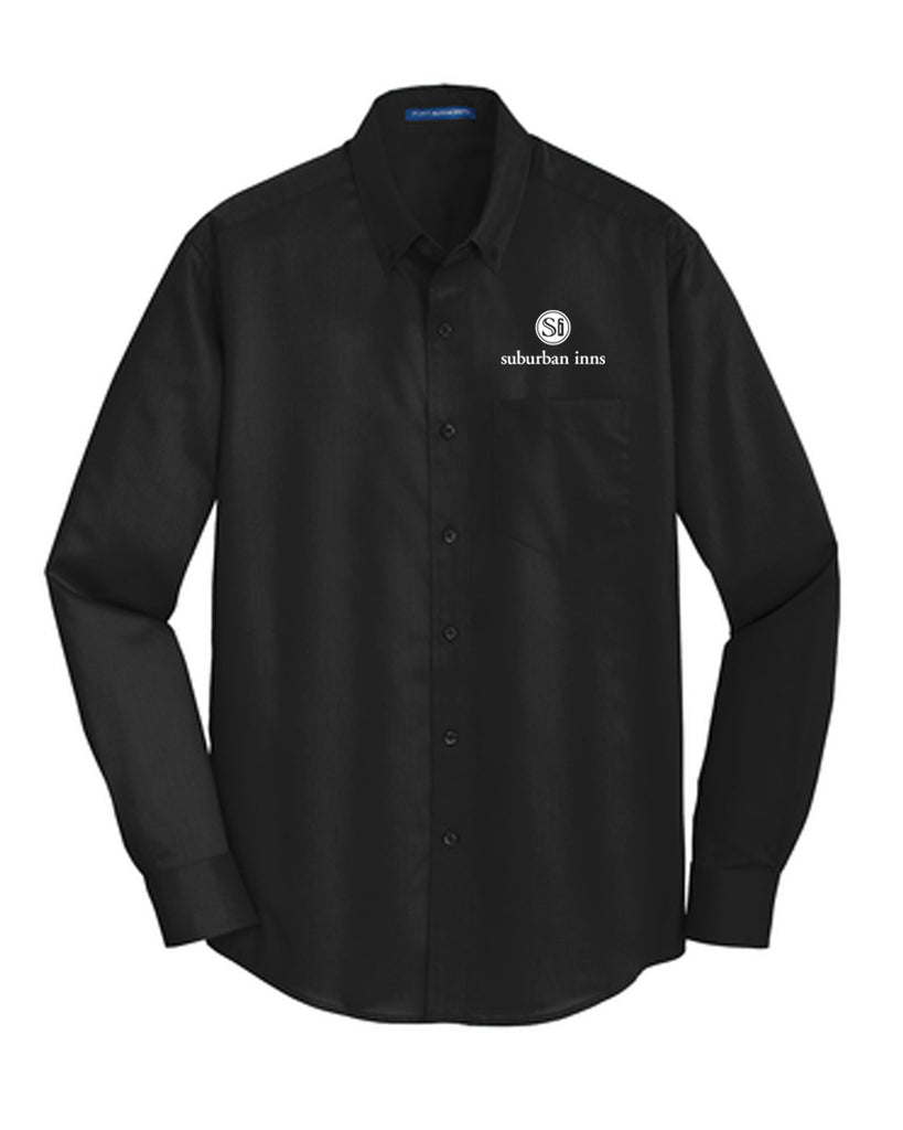 Men's Suburban Inns Port Authority® Tall SuperPro™ Twill Shirt