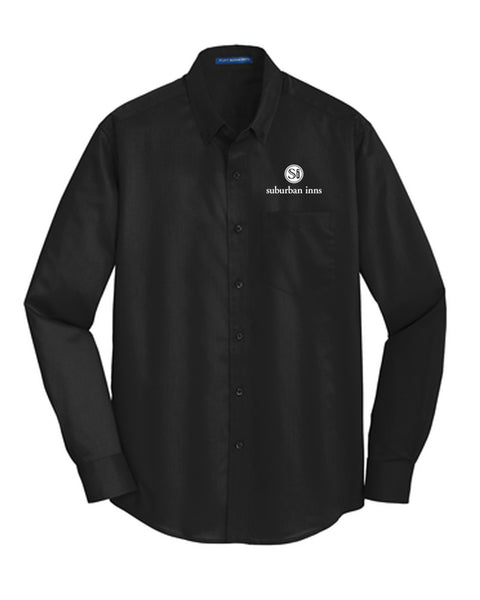 Men's Suburban Inns Port Authority® SuperPro™ Twill Shirt
