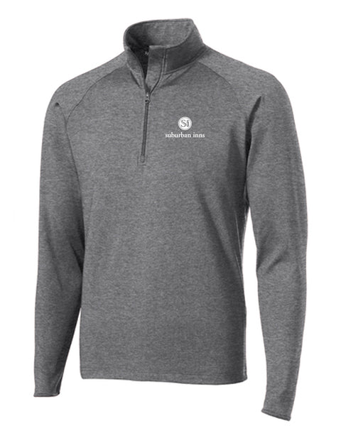 Men's Suburban Inns Sport-Tek® Tall Sport-Wick® Stretch 1/2-Zip Pullover