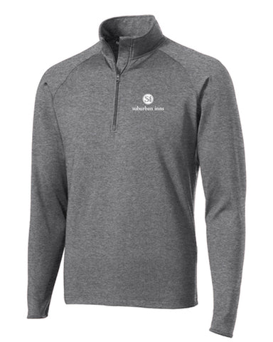Women's Big E's Sport-Tek® Sport-Wick® Stretch 1/2-Zip Pullover