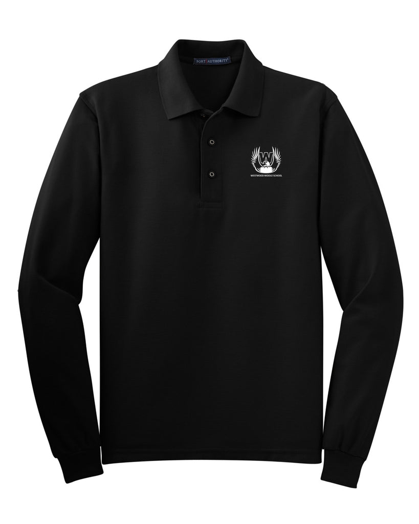 Westwood Middle School Long Sleeve Polo