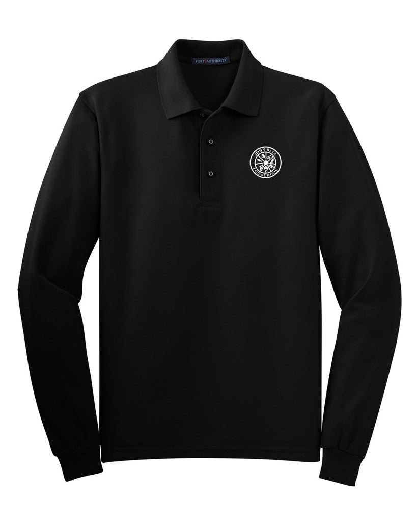 Zoo School Long Sleeve Polo