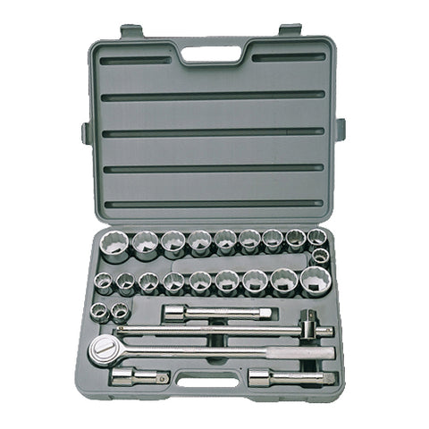 "3/4"" Dr. 26-pce Socket Set - Std"
