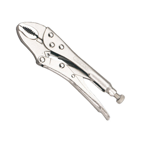 Self-Grip (Mole) Pliers - Curved Jaw - 220mm long