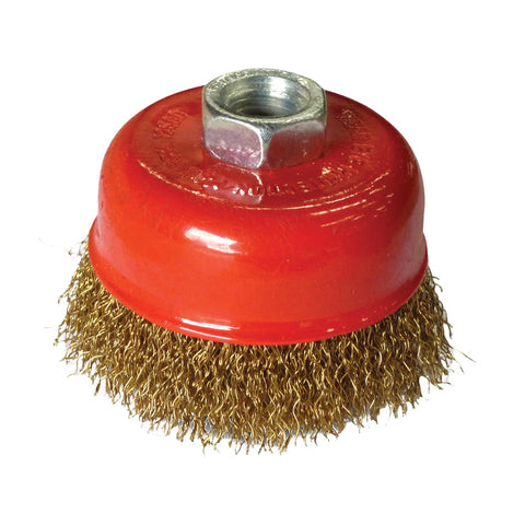 75mm x M10 Crimped cup brush