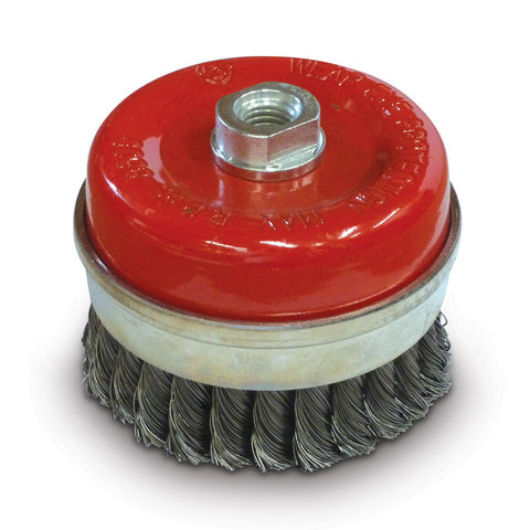 70mm x M10 Twist knot cup brush