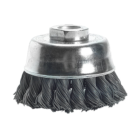 Twist Knot Cup Brush - Heavy Duty