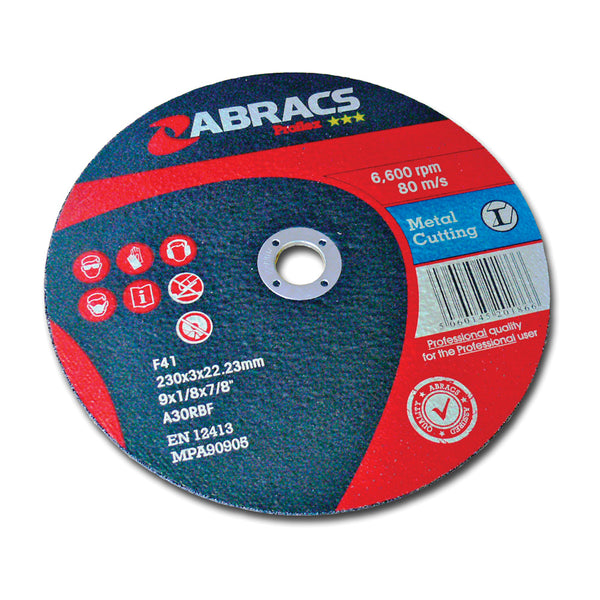 "9"" Metal Cutting Disc"