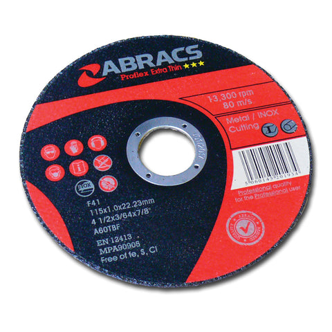 "(9"") 230mm Ultra Thin Metal Cutting Disc (1)"