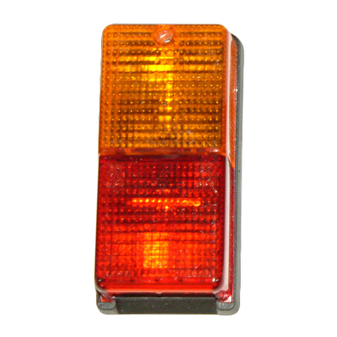 Rear Rectangular Lamp