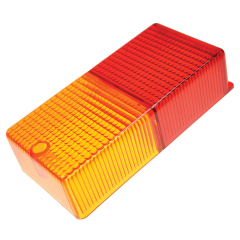 Rear Rectangular Lamp lens