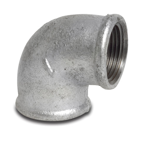 Galvanised Elbow