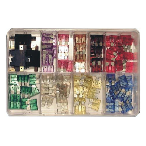 Assorted Standard Blade Fuses - (100-pce)