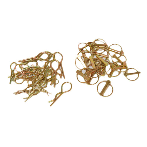 Assorted Linch Pins/R Clips (50-pce)