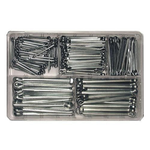 Assorted Split Pins -Smaller sizes (1000-pce)