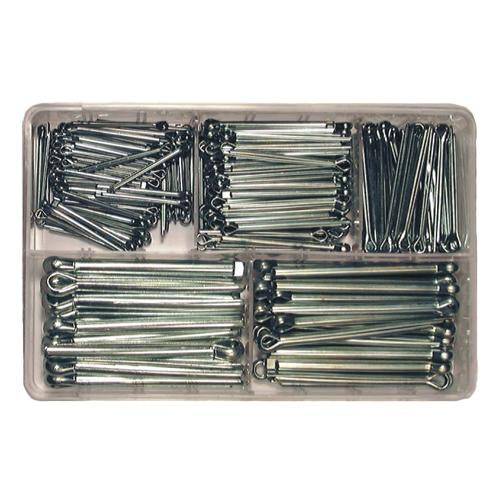 Assorted Split Pins - Larger sizes (225-pce)