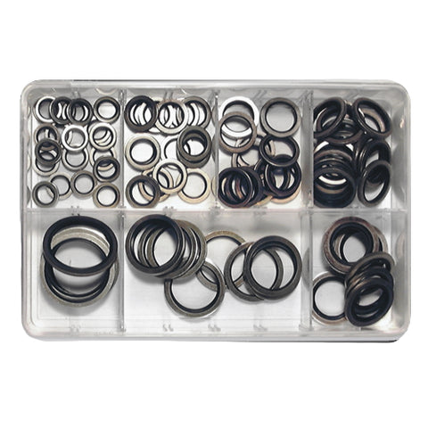 Assorted Dowty Sealing Washers (91-pce)