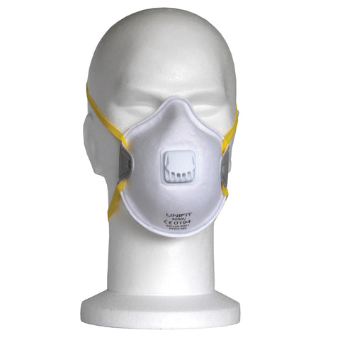 FFP3 Valved Dust Masks