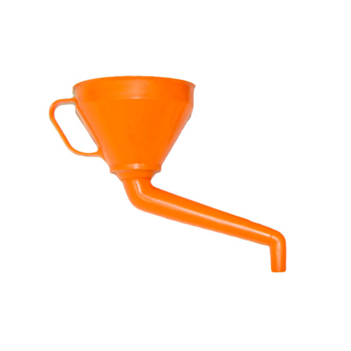 "6"" PVC Funnel - Cranked Spout"
