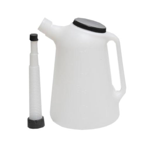 5Ltr Oil Jug - c/w Flexible Spout