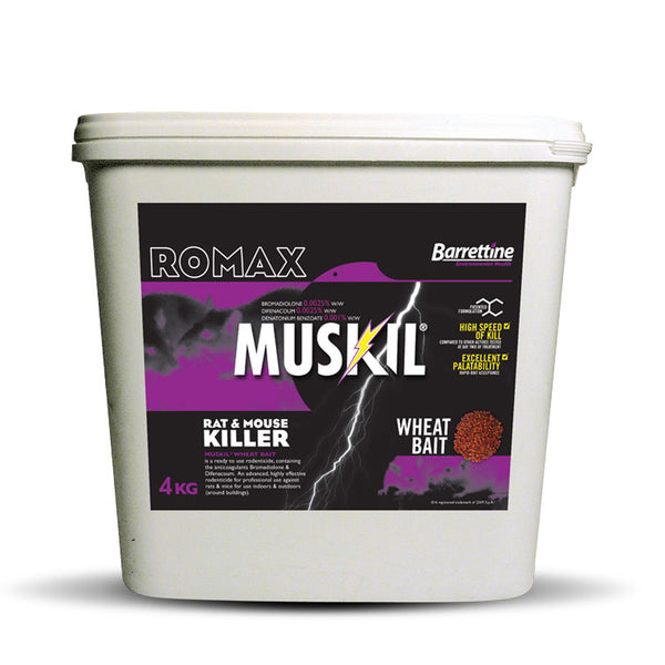 Muskil Whole Wheat - 4kg Tub