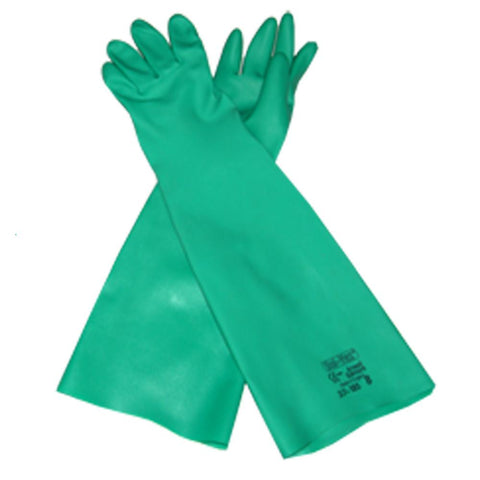 Long Nitrile Sprayers Gauntlets