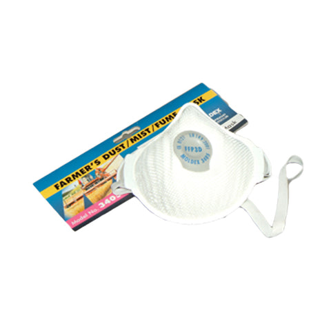 FFP3 Valved Dust Mask