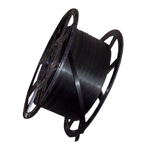 Black Polyprop Strapping