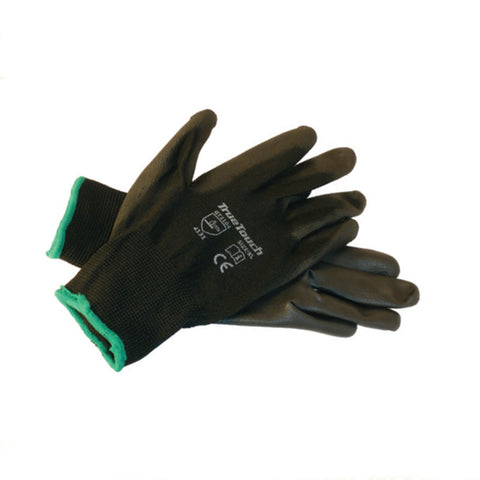 Black Lightweight Work Gloves