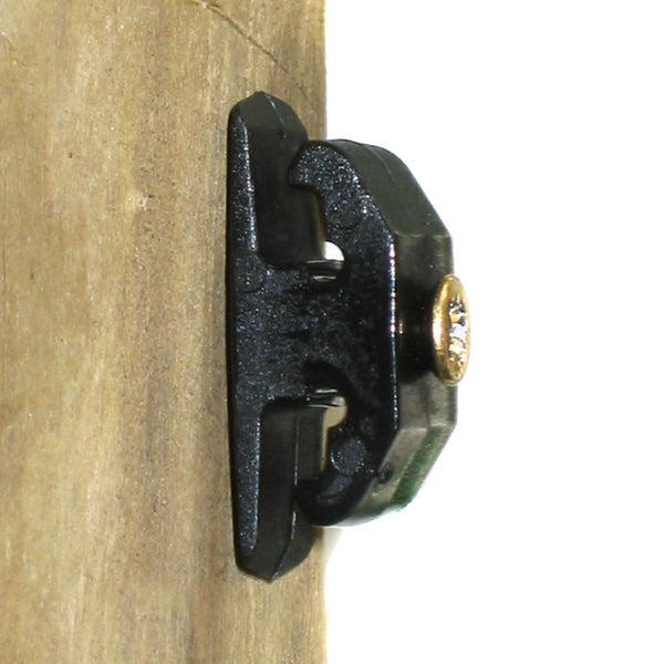 Deltex Xtrawire Double Clip for wooden posts (Pk 1000)