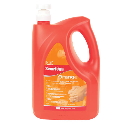 Swarfega Orange pump top - 4 Ltr