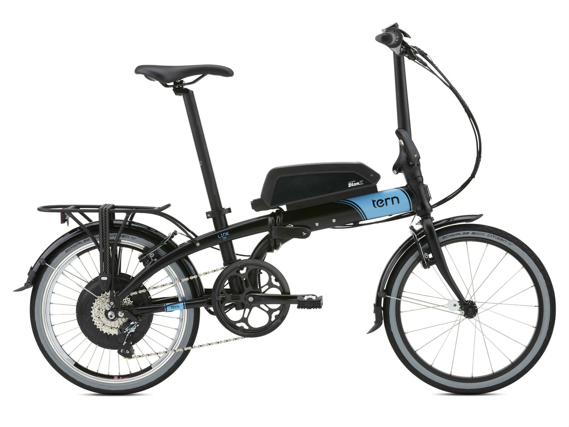 tern link d8 with bionx affordable electric bike