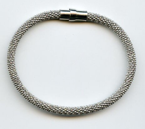Stainless Steel Fashion Bracelet with Magnetic Clasp
