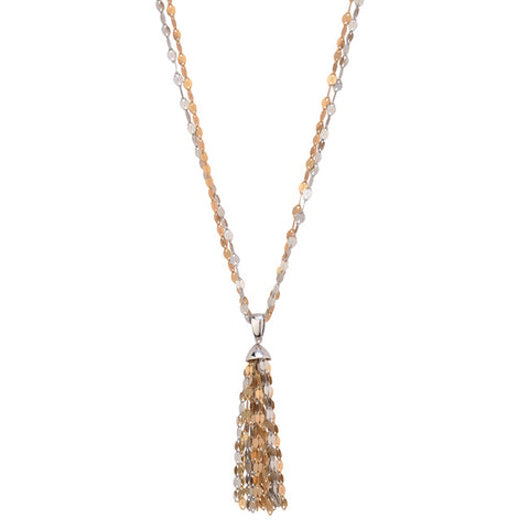 Fredric Duclos Reflections Tassle Necklace