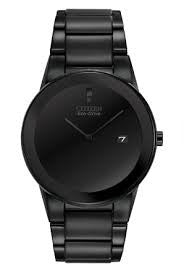 Citizen Axiom Eco-Drive Black Men's Watch